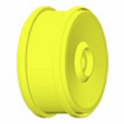 GH98Y Velg 132 mm. geel 24 mm. meenemer  1 Paar