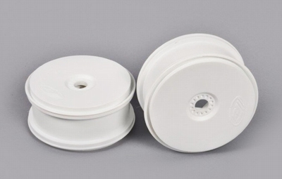 67215 Disk Felge weiß  'Tire save' 24mm Hexagon  2 Stuks