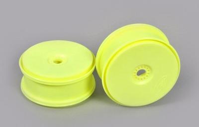 67216 Disk velgen geel 'Tire save' 24 mm. meenemer  2 Stuks