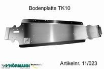 11/023 Bodemplaat TK10  L=535 mm 1 Stuks
