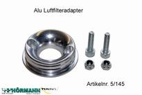 05/145 Aluminium luchtfilterflens t.b.v.Twin Air luchtfilter 1 Stuks